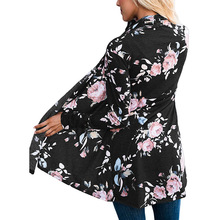 2018 Women's Cardigan Maternity Clothes for Pregnant Female Floral Blouse Shirts Pregnancy Clothing Nursing Tops ropa de mujer