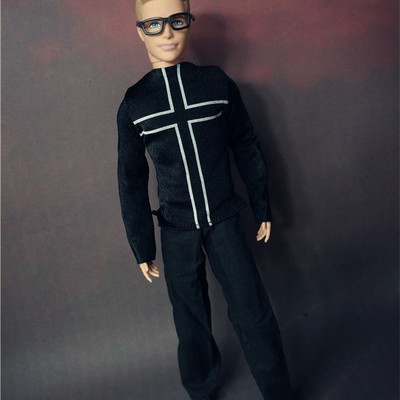 אופנה ילדים אמריקאית בנות מתנה pullip ילד דול אביזרים אביזרים חליפה מזדמנים קבוצה הרבה בגדים עבור החבר ברבי בובות 1/6 קן