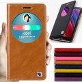 Чехол для ASUS Zenfone 2 натуральная кожа, 8 цветов, естественная верхний Smart окно перевёрнутый стойка чехол 5,5 '' ZE551ML роскошь мобильный телефон сумки