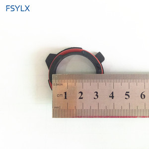 Image 5 - Fsylx 50pc farol do carro clipe retentor adaptador titular para bmw série 5 e12 e28 e34 e39 e60 e61 f10 f11 led farol h7 adaptadores