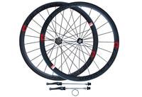 High Quality Strong CALLANDER 700C 48mm Clincher Rims Road Bike Matt 3K Full Carbon Bicycle Wheelsets