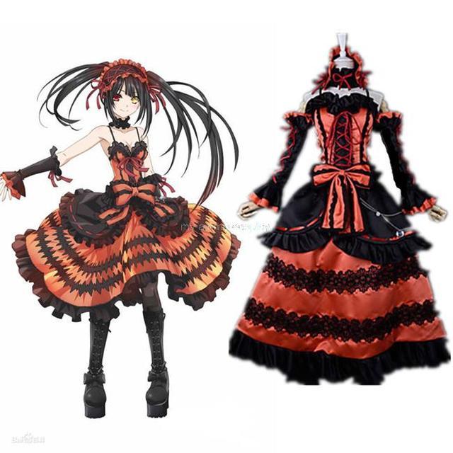 Red Anime Dresses