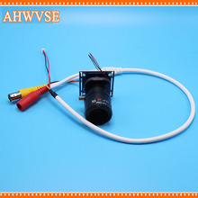 AHWVSE HD CCTV 1200TVL 2.8-12mm lens  CCTV Mini Camera module board with IR-CUT and BNC cable