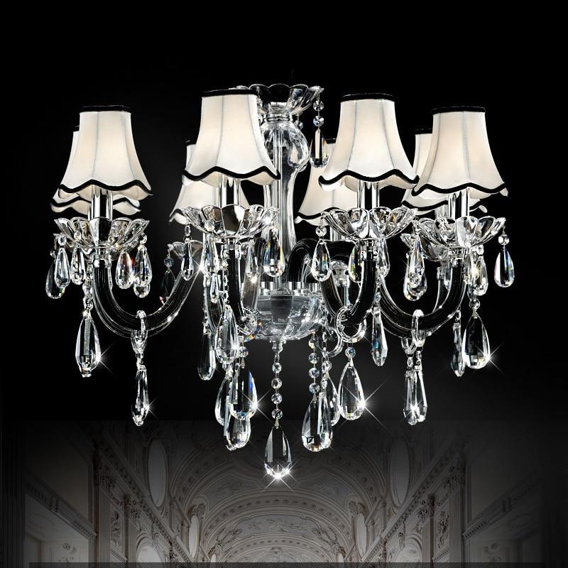 black crystal lighting. black crystal chandelier lights home lighting fixture for parlor living room dinning modern r