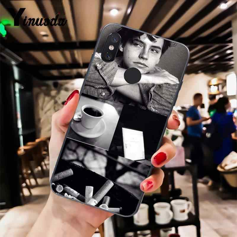 Yinuoda ривердейл серии Коул спраус Мода чехол для телефона для Xiaomi mi 6 mi x2 mi x2S Note3 8 8SE Red mi чехлы для айфонов 5 5 Plus Note4 4X Note5