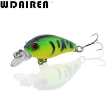 1Pcs 4.5cm 4g Fishing Lures Crank Baits Mini Crankbait Wobblers 3D Fish Eye Artificial Lure Bait with Lifelike Fake Lure NE-312