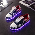 USB Charging Boys Girls Luminous Sneakers Kids Sport Shoes Led Children Illuminated Sneakers Led Light Shoes Tenis Led Infantil