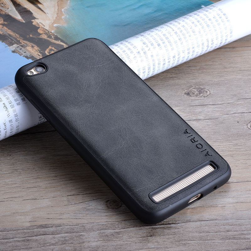 For Xiaomi Redmi 5a Case Luxury Vintage Leather Skin Cover Phone Cases For Xiaomi Redmi 5a Funda Business Style Coque Capa