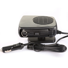 Portable Heating Fans Car Styling Air Conditioning Defroster Demister 12V Electric Auto Cool Air Car Solar Fans Heater