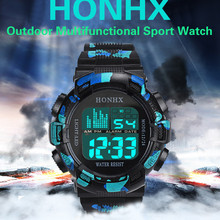 Men's Watch Digital LED Sports Wristwatch Military Date Stop Watches