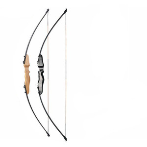 Image 2 - 30 40lbs Straight Bow Split 51 Inches  And fiberglass Arrow For Children Youth Archery  Shooting  Kids Bow
