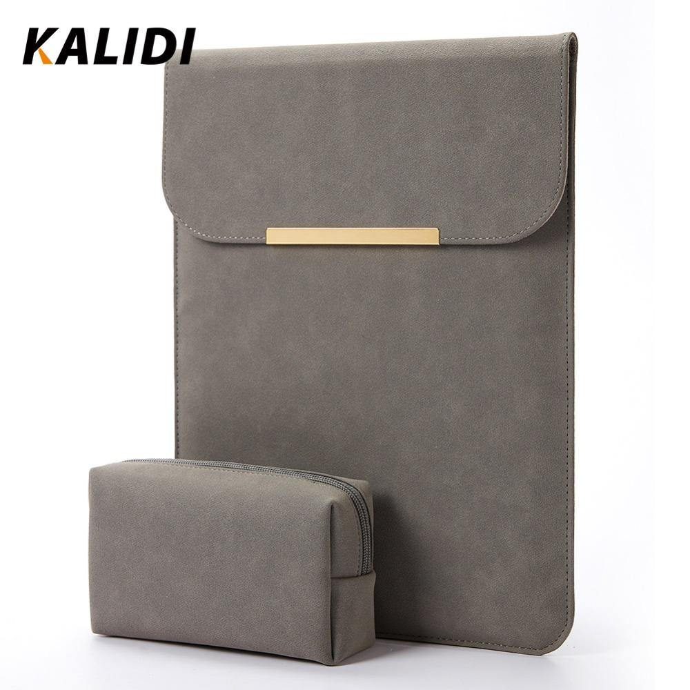 KALIDI Laptop Bag Sleeve For Macbook Air 11 Inch New Pro 13 Notebook Bag For Ipad 12.9 Inch Laptop Case For Surface Pro XiaoMi