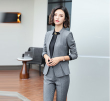 Buy Grey Blazer Black Pants And Get Free Shipping On Aliexpress Com