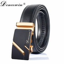Fashion designer leather strap male automatic buckle belts for men men's belts ceinture,cinto masculino