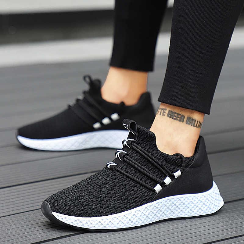 2019 nuevos zapatos casuales transpirables para hombre