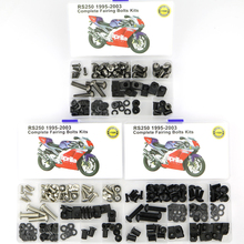 For Aprilia RS250 1995-2003 Motorcycle Full Fairing Bolts Kit Complete Clips OEM Style Screws Side Covering Steel