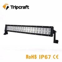 21 pouce 120 W LED Light Bar Offroad Rigide Conduite Lumières Pour voiture Camion 4x4 SUV ATV 4WD RAV Combo Faisceau 12 V 24 V
