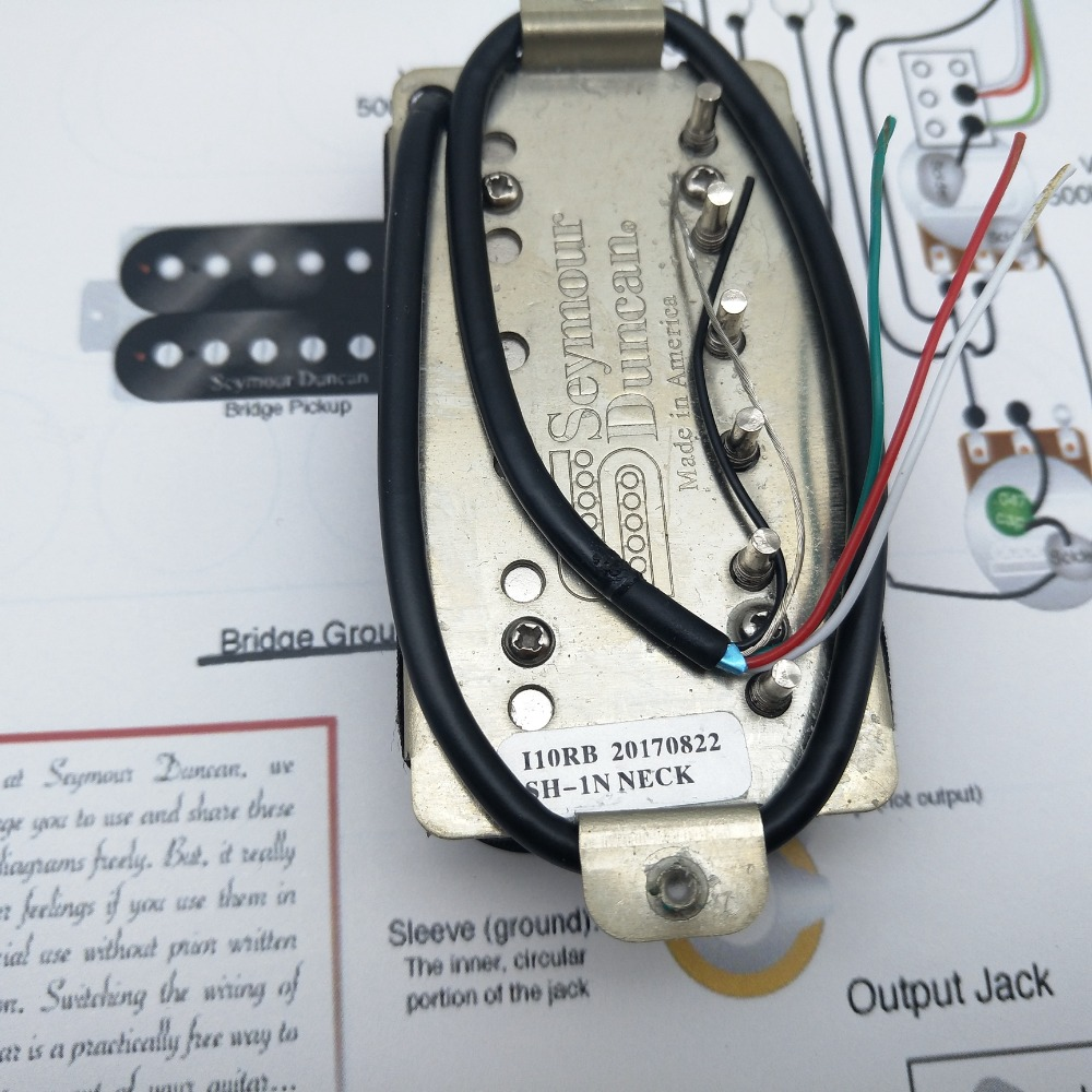 medium resolution of seymour duncan pickups sh pg1n pearly gates humbucker guitar neck pickups in guitar parts accessories from sports entertainment on aliexpress com