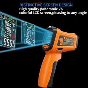 Image 5 - PM6530D digitale laser infrarood thermometer hygrometer type K UV licht elektronische temperatuursensor vochtigheid meter pyrometer