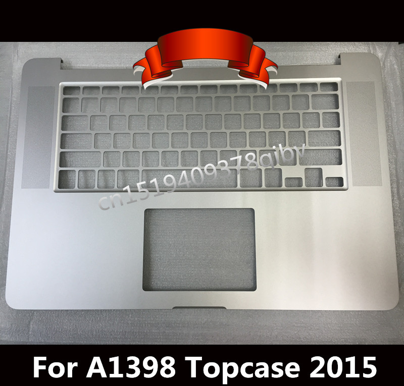 New US Top case For MacBook Pro 15 Retina A1398 Palmrest topcase No keyboard track pad