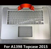 New US Top case For MacBook Pro 15 Retina A1398 Palmrest topcase No keyboard track pad 2015