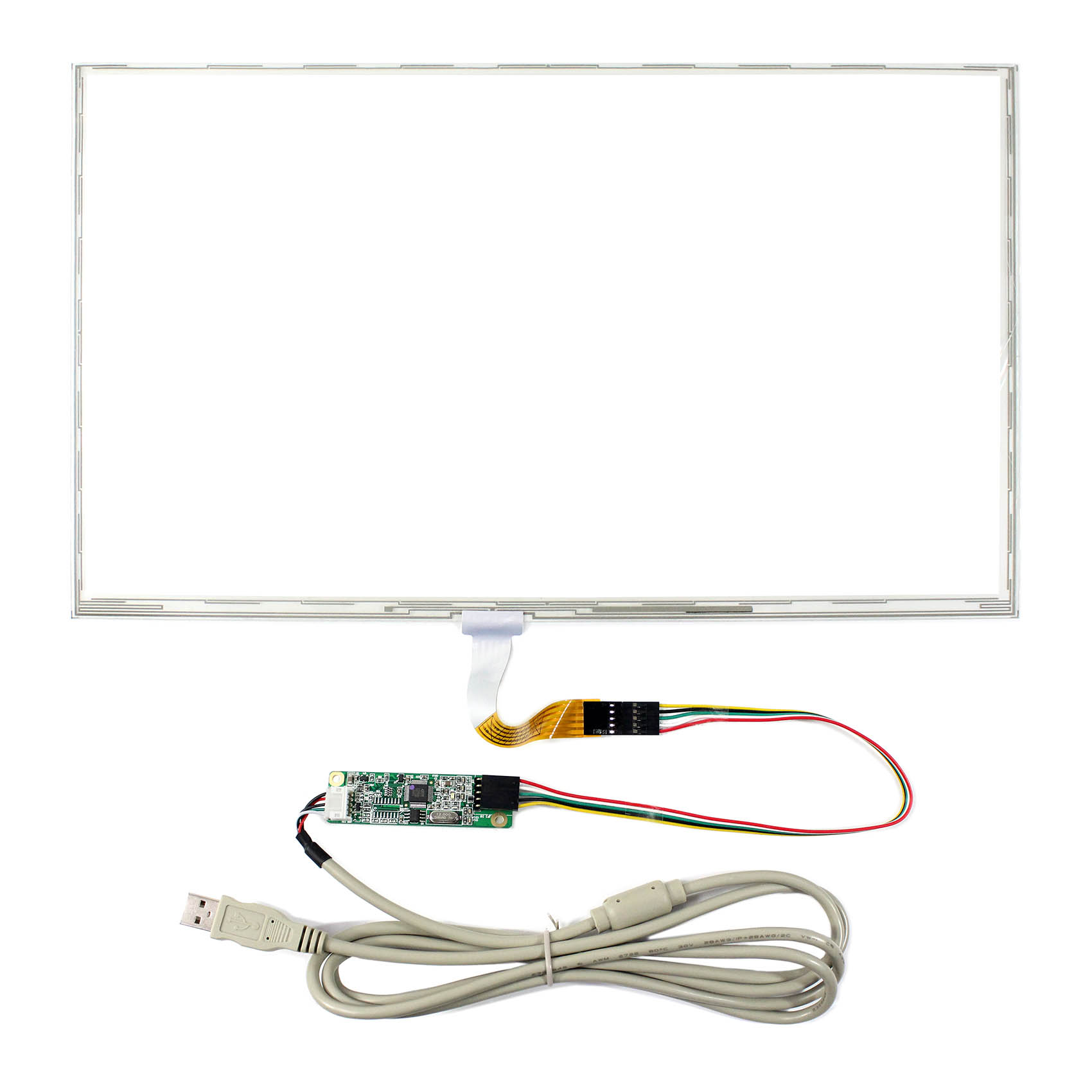 15.6inch  5pin FPC connector 5-Wire Resistive Touch Panel Dimension Size 359mmx209mm Reissitve Touch Screen15.6inch  5pin FPC connector 5-Wire Resistive Touch Panel Dimension Size 359mmx209mm Reissitve Touch Screen