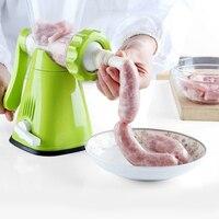 Manuel hachoir à viande saucisse machine ménage multifonctionnel main viande farce hacher la viande farce trésor chili poudre gri