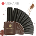 MSHARE 8ml Gel Nail Polish UV Gel Nail Polish Long-lasting LED UV Gel Color ail Art Tools Color 40