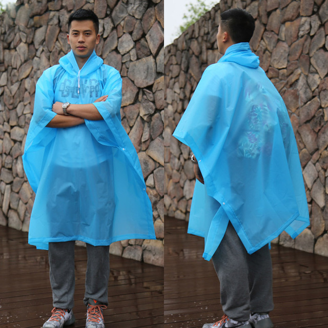 Multifunctional Raincoat Universal  Men Transparent Raincoat Women Backpack Poncho Rain Coat Cover Impermeable Camping Hiking