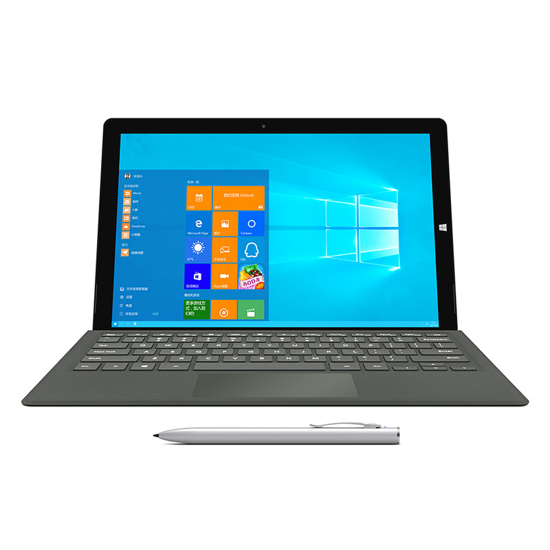 Teclast X5 Pro 2 en 1 Tablet PC 12.2 pouce Windows 10 IPS Capacitif Écran Intel Kaby Lac Core M3-7Y30 Quad Core 1.0 GHz 8 GB RA