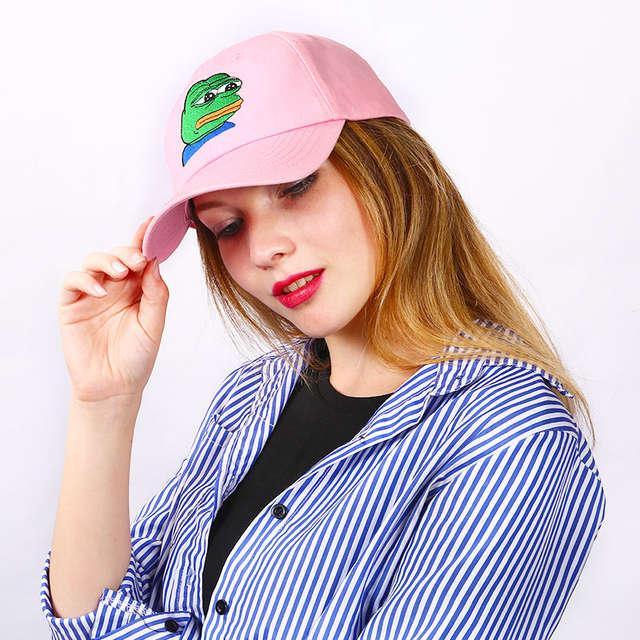 5efead5dfe97d Online Shop Sad Kermit Brand New! Ex Machina Bay Women Baseball Cap  Strapback snapback palace gorras Dad hat for MenTravis Scotts cap