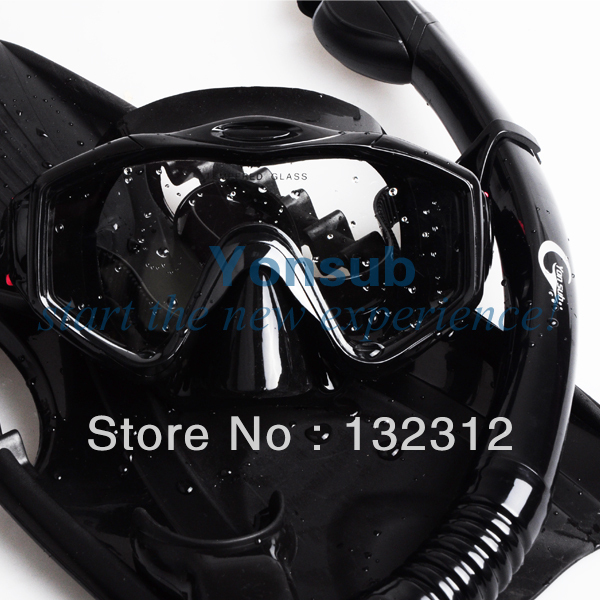 Yonsub Professional Scuba Diving Equipment with Mask snorkel Adjustable Fins Set Adult Snorkeling Gear yonsub hot sale scuba professional diving equipment dive mask dry snorkel diving fins set snorkeling gear