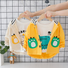 2019 fall new products hood casual fashion baby boys jacket kids coats