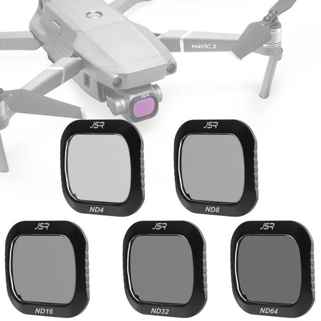 สำหรับ DJI Mavic 2 Pro ND4 + ND8 + 16 + 32 + ND64 Neutral Density Glass สำหรับ DJI mavic2 Pro/Professional Protector Drone อุปกรณ์เสริม