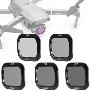 Image 1 - For DJI Mavic 2 Pro Filter ND4+ND8+16+32+ND64 Neutral Density Glass For DJI Mavic2 Pro/Professional Protector Drone Accessories