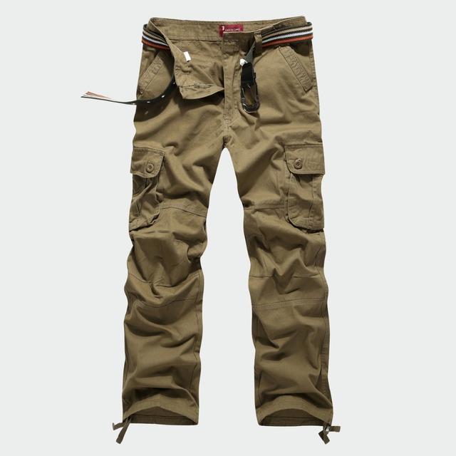 Tamaño grande 30-44 para hombre de marca pantalones de los hombres pantalones de moda de verano para hombre pantalones cargo 4 color Nuevo 2017