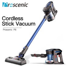 Proscenic P8 Cordless Stick Vacuum 7000Pa Lightweight Battery Rechargeable Two Speeds Suction Portable Handheld Vacuum Cleaner