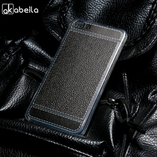 AKABEILA Silicone Phone Cover Case For Fly Cirrus 4 FS507 Fly FS507 5.0 inch Case TPU Lichee Fundas Coque Cover Bag