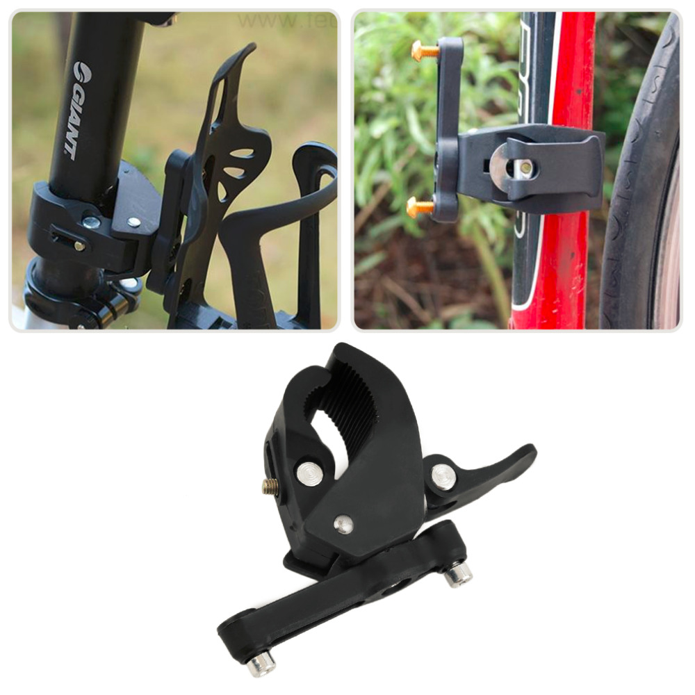 Water Bottle Bike Holder: Bicycle Cycling Handlebar Mount Water Bottle Cage Holder
