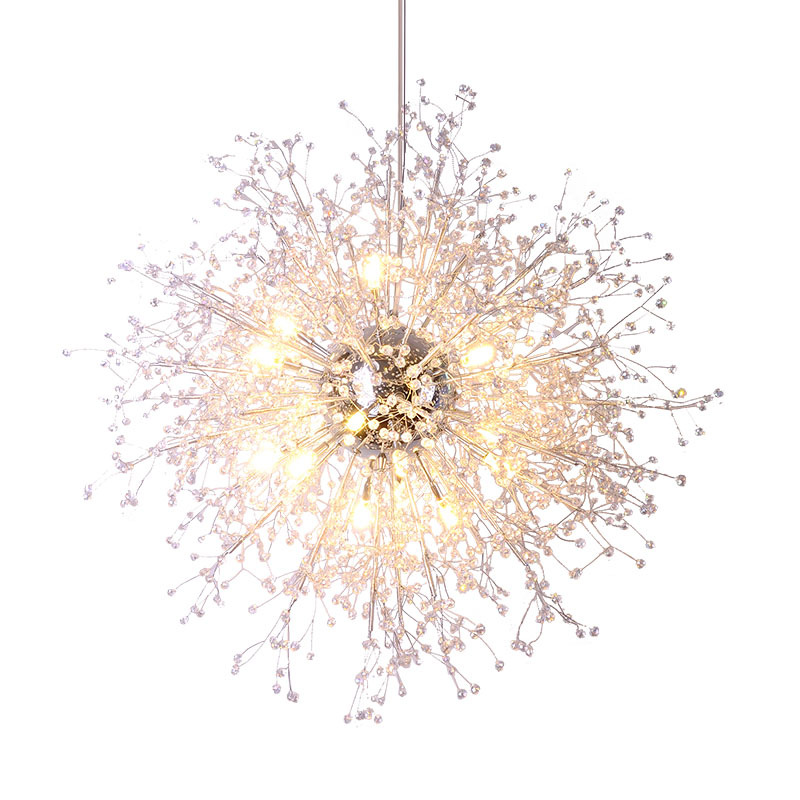 Modern Crystal Chandeliers Lighting Acrylic Crystal Hanging Light Contemporary Retro Orb Chandelier Light Home Hotel Decor gramercy люстра iron orb chandelier