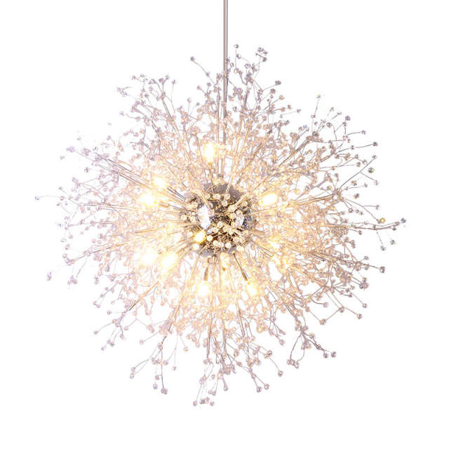 Us 87 12 51 Off Modern Crystal Chandeliers Lighting Acrylic Hanging Light Contemporary Retro Orb Chandelier Home Hotel Decor In