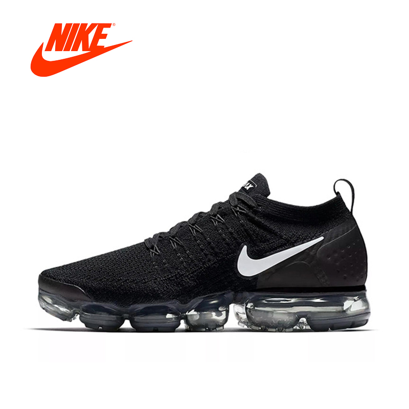 01cb39190562 Original Authentic NIKE AIR VAPORMAX FLYKNIT 2 Mens Running Shoes Sneakers  Breathable Sport Outdoor Designer Low