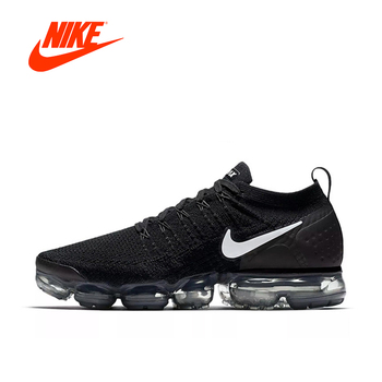 Original Authentic NIKE AIR VAPORMAX FLYKNIT 2 Mens Running Shoes Sneakers Breathable Sport Outdoor Designer Low Top 942842