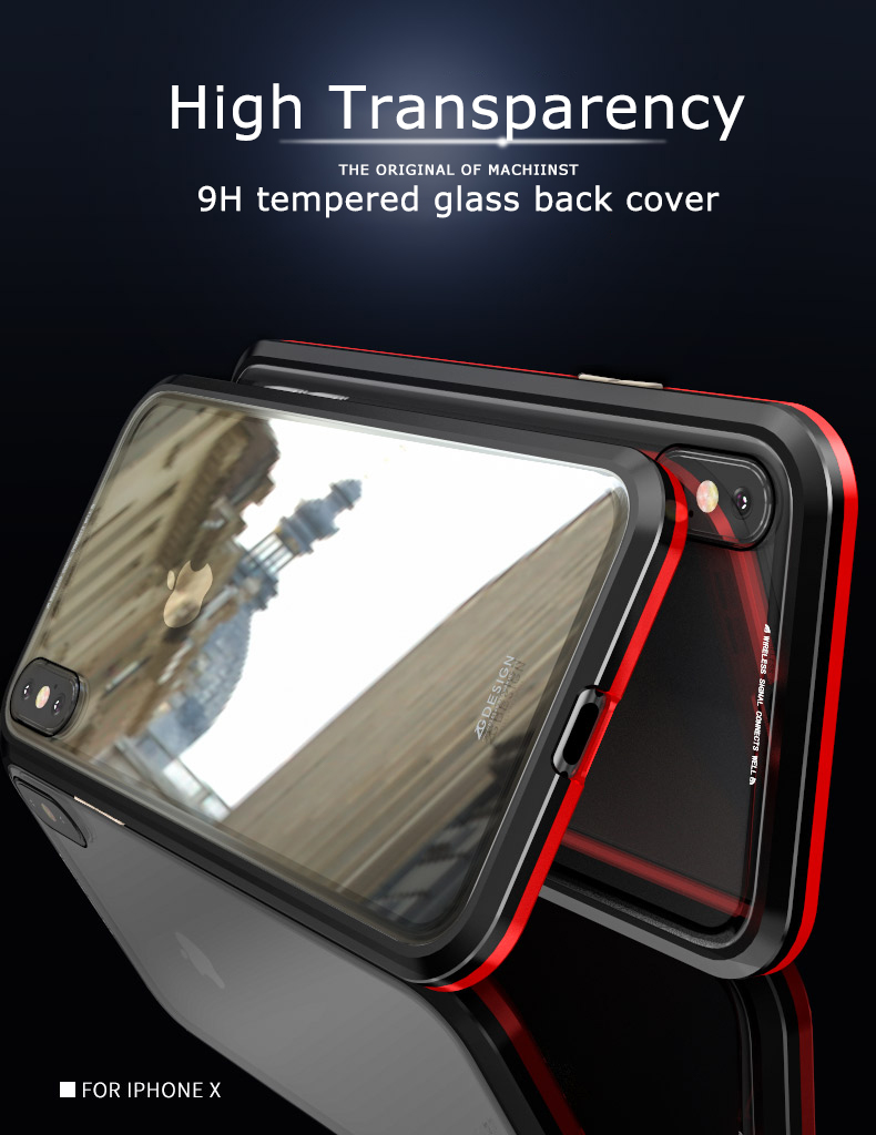 LUPHIE magnetic case for iPhone X XS Max XR 7 8 magnet case (11)