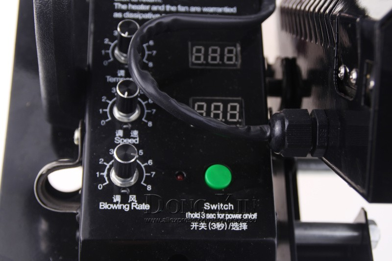печать на ткани тепла пути машина, автоматический запуск горячего воздуха баннер место аппарат, пвх водонепроницаемое покрытие швы машины