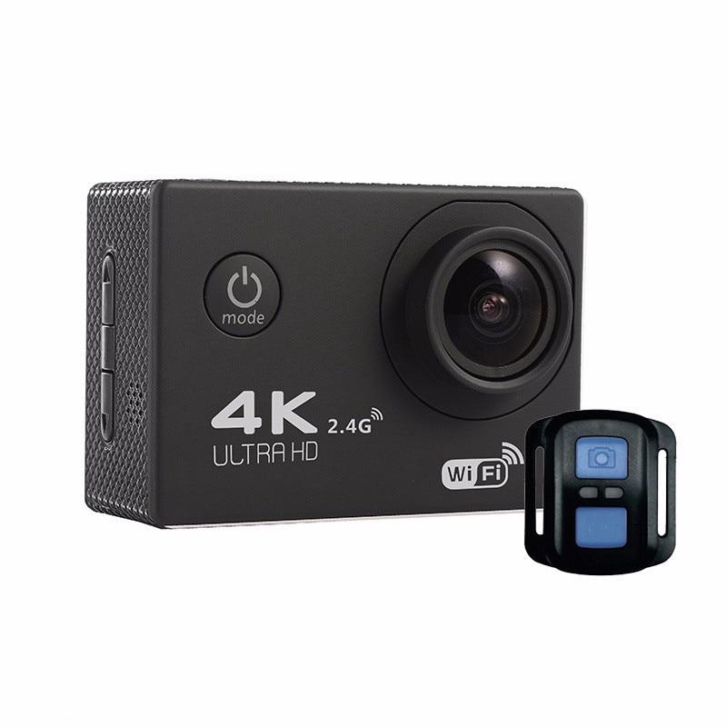 ФОТО F60R 4K Action Camera 4K/30fps 1080P 60fps WiFi 2.0LCD 170D Helmet Cam goWaterproof pro Extrame Cam Remote Control Sport Camera