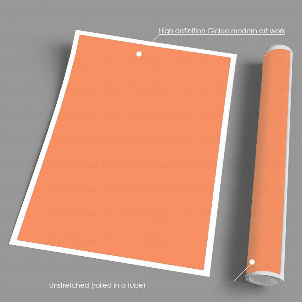 Kağız plakatında heç bir çərçivə işarəsi yoxdur. Yaşayış - Ev dekoru - Fotoqrafiya 5