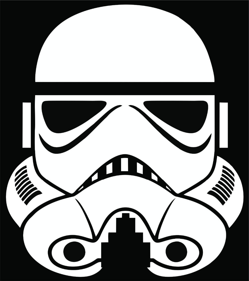 Free Shipping Stormtrooper Wall Sticker Decal Star Wars