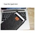 Hot sale Sample Design Felt  Sleeve Case For iPad  mini /ipad mini2/ ipad mini3 Tablet Universal shockproof pouch