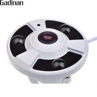 GADINAN AHD Camera 2MP Panoramic 1.7mm Lens 360 Degree Fisheye Camera AHDH 1080P Full HD CCTV Camera
